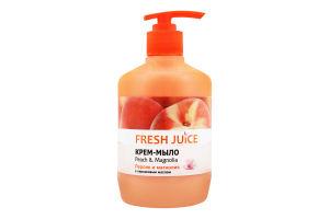 Крем-мило рідке Peach&Magnolia Fresh Juice 460мл