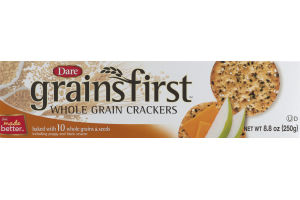 Dare Grains First Whole Grain Crackers