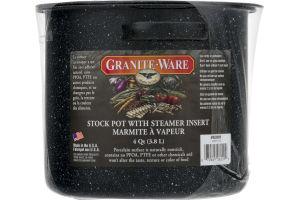Granite-Ware 4 Quart Stock Pot