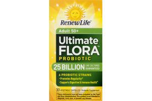 RenewLife Adult 50+ Ultimate Flora Probiotic - 30 CT