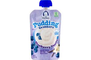 Gerber Pudding Grabbers Blueberry Vanilla