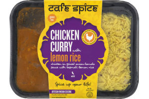 Cafe Spice Chicken Curry With Lemon Rice Mild