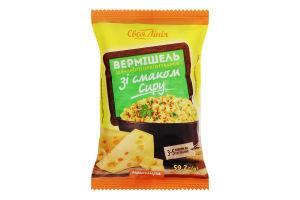 Вермишель быстрого приготовления неострая со вкусом сыра Своя Лінія м/у 59.2г