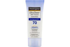 Neutrogena Ultra Sheer Dry-Touch Sunscreen SPF 70