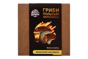 Грибы маринованные Польские Дари Гуцульщини к/у 348г