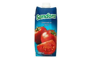 Сік томатний Сандора призма т/п 0,5л