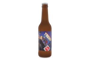 Пиво 0.33л 7.2% світле нефільтроване Правда Trump бут