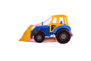 Игрушка для детей от 3лет трактор-погрузчик Мастер №35301 Спецмашина Polesie 1шт