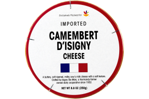 Ahold Imported Camembert D'Isigny Cheese
