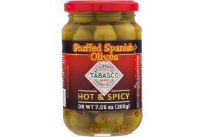 Tabasco Stuffed Spanish Olives Hot & Spicy