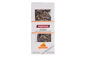 Шоколад темний з апельсином Delaviuda к/у 120г