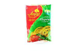 Овощи быстрозамороженные Перец сладкий резаный Ажур м/у 400г