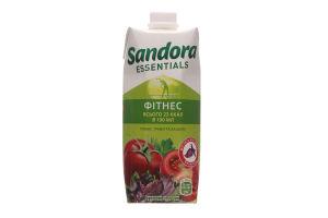 Томатний сік з сіллю та екстратами страв Сандора Ессеншилзб Фітнес 0,5л