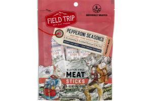 Field Trip Gluten Free Meat Sticks Pepperoni Seasoned - 6 CT