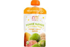 Nurturme Power Blends Organic Stage 2 Mango + Guava + Quinoa