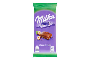 Шоколад молочный Лесной орех Milka м/у 90г