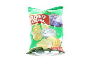 Чипсы со вкусом сметаны с зеленью Мачо м/у 60г