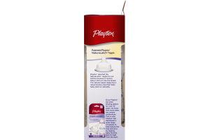 Playtex Mix & Match Nipples & Bottles Nurser with Drop-Ins Liners Medium