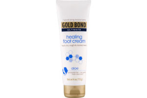 Gold Bond Ultimate Healing Foot Cream Aloe