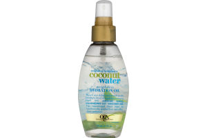 OGX Weightless Hydrating Oil Weightless Hydration + Coconut Water
