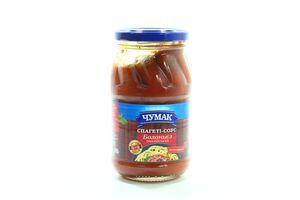 Соус-спагеті Чумак болоньєз італійський с/б 380мл х10
