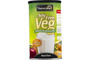 Naturade Soy-Free Veg Protein Booster Natural Flavor