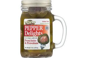 Norpaco Pepper Delights Prosciutto & Provolone