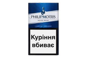 Сигареты с фильтром Novel Blue Philip Morris 20шт