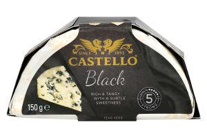 Сир м'який з блакитною пліснявою «чорний»