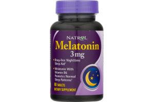 Natrol Melatonin 3mg Tablets - 60 CT
