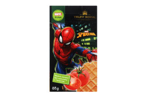 Вафли соленые без начинки с томатом Spider-man Truff Royal к/у 85г