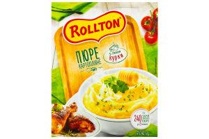 Пюре картофельное со вкусом курицы Роллтон м/у 40г