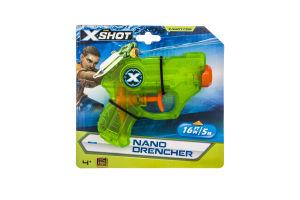 Бластер для детей от 8лет водяной №5643 Nano Drencher X-Shot Zuru 1шт