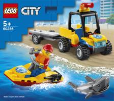 Конструктор для дітей від 5років №60286 Всюдихід пляжних рятувальників City Lego 1шт