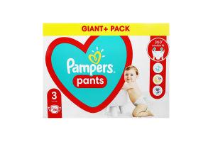 Трусики-підгузники для дітей 6-11кг 3 Pampers 86шт