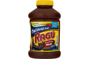 Ragu Old World Style Sauce Meat