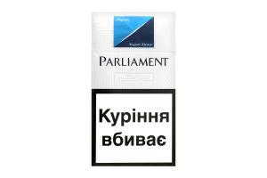 Сигареты Parliament Super Slims Aqua 20шт