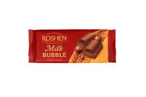 Шоколад пористий Milk Bubble Roshen м/у 80г