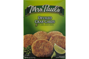 Mrs. Paul's Deviled Crab Cakes - 5 CT