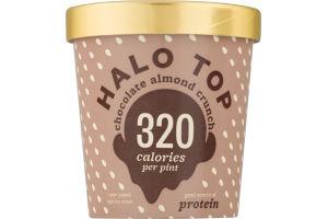 Halo Top Light Ice Cream Chocolate Almond Crunch