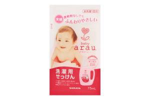 На одну закладку : Жидкость для стирки детской одежды наполнитель Arau Baby 75 мл