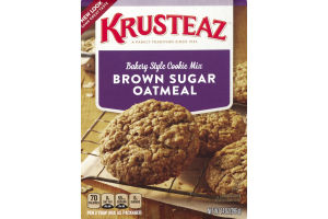 Krusteaz Bakery Style Cookie Mix Brown Sugar Oatmeal