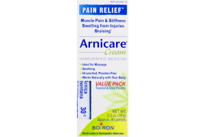 Arnicare Cream Homeopathic Medicine Pain Relief