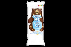 """Морозиво пломбір Laska """"Bear Мішка"""" у конд. гл. з вибух. кар. 90г плівка"""