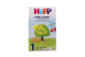 Суміш суха молочна для дітей від народження до 6міс №1 Organic Hipp к/у 300г