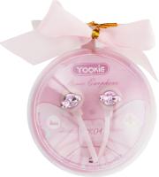 Навушники рожеві YK04 Yookie 1шт
