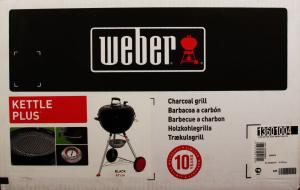 Гриль угольный Weber Kettle Plus GBS 47см 13601004