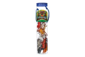 Набор игрушек для детей от 3лет №Т33703 Дикие животные Wing Crown Plastic Products 1шт
