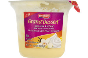 Ehrmann Grand Dessert Vanilla Creme