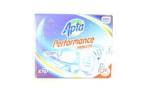 Таблетки для посудомоечных машин classic Apta 1,260кг 70шт